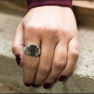 Ancient Authentic Roman Coin Ring Certified